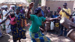 Rencontre villageoise à Kayes
