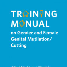 Manuel de Formation sur les MGF/E – UN Women
