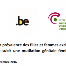 Prevalence of women and girls affected by FGM in Belgium