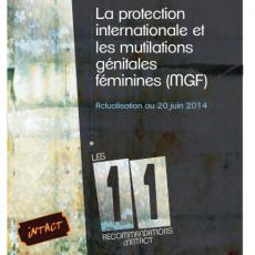 """Bijwerking """"De internationale bescherming en de vrouwelijke genitale verminkingen (VGV)"""", 20 juni 2014."""