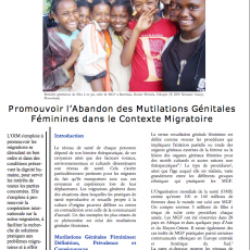 Supporting the Abandonment of Female Genital Mutilation in the Context of Migration