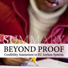 Beyond proof: Credibility Assessment in EU Asylum Systems – Summary