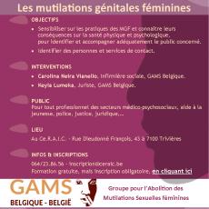 Séance d'information sur les MGF