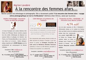 INVITATION Marion Lavabre 16 et 17 oct 2015