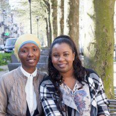 Rencontre avec deux jeunes femmes guinéennes, militantes et futures relais communautaires