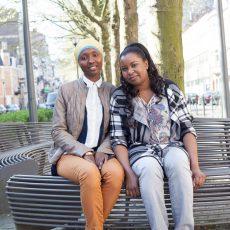 Ontmoeting met twee jonge activistes, afkomstig uit Guinee en toekomstige co-bemiddelaars
