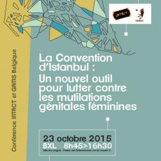 Dossier Colloque «La Convention d'Istanbul : Un nouvel outil pour lutter contre les MGF»