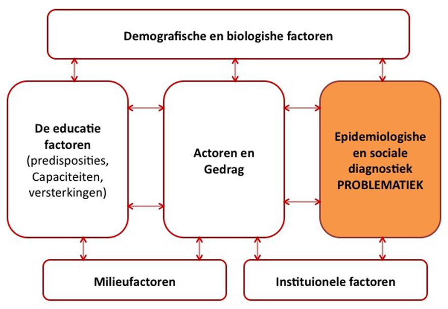 Figuur 2: De diagnostiek van de situatieanalyse