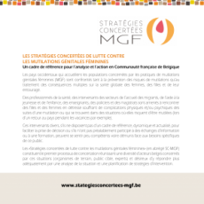 Dépliant de présentation des Stratégies concertées de lutte contre les MGF (2009)