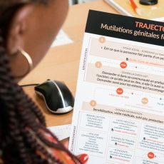 Rencontre avec l'une des référentes MGF des centres d'accueil